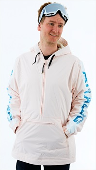 Analog Chainlink Anorak Ski/Snowboard Pullover Jacket, L Crystal