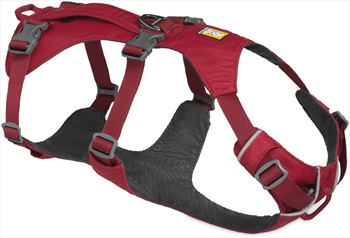 Ruffwear Flagline Dog Harness Lightweight Pet Harness, L/XL Red Rock