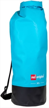 Red Original Roll-Top Drybag Waterproof Equipment Bag, 30L Aqua Blue