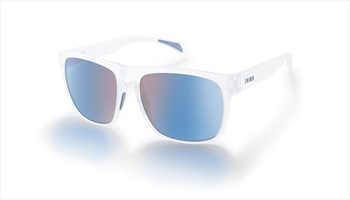 Zeal Capitol Sunglasses Matte Crystal Horizon Blue