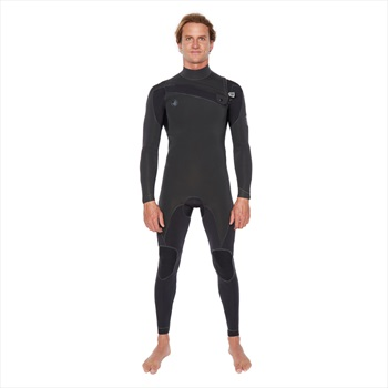 Body Glove Pr1me 4/3 Slant Chest Zip Surfing Wetsuit, MS Black