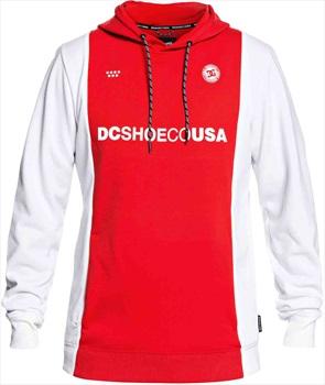 DC Snowstar FC Pullover Tech Ski/Snowboard Hoodie, L Racing Red