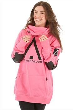 Wearcolour Bowl Ski/Snowboard Technical Hoodie XS Post-It Pink