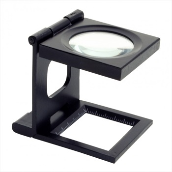 BCA 10X Magnifying Loupe Snow Study Equipment Black