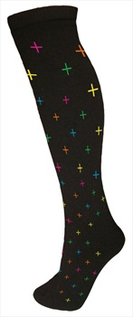 Manbi Pattern Ski/Snowboard Tube Socks UK 4-11 Kriss Kross