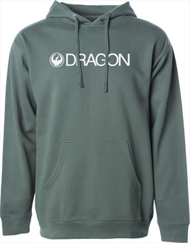 Dragon Trademark Hoodie, L Alpine Green