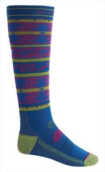 Burton Performance Lightweight Ski/Snowboard Socks, L Classic Blue