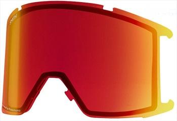 Smith Squad XL Snowboard/Ski Goggle Spare Lens, CP Photochromic Red