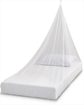 Care Plus Wedge Impregnated Mosquito Net, 1 Person White