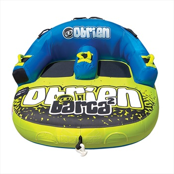 O'Brien Barca Seated Towable Inflatable Tube 2 Rider Yellow 2019