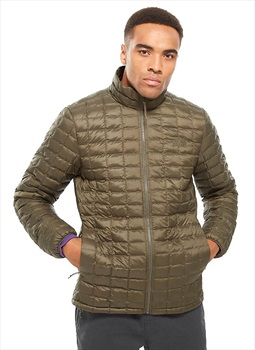 The North Face Thermoball Eco Insulated Hiking Jacket, S Taupe Green