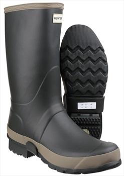 Hunter Adult Unisex Gardener Wellington Boot, UK 8 Dark Olive/Clay