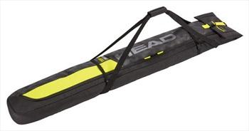 Head Single Ski Bag, 57.5L Black/Yellow
