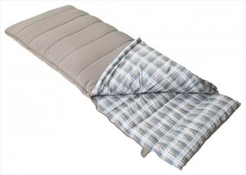Vango Vario Single Camping Sleeping Bag, 190cm Nutmeg