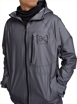 Burton [ak] Surgence Gore-Tex Waterproof Jacket, M Nickel
