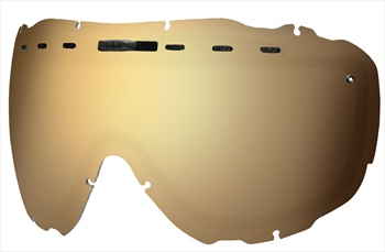 Smith Prophecy Snowboard/Ski Goggle Spare Lens, One Size, Gold Sol-X