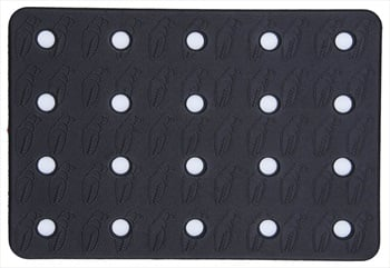 Crab Grab Holey Sheet Snowboard Stomp Pad, Black/White