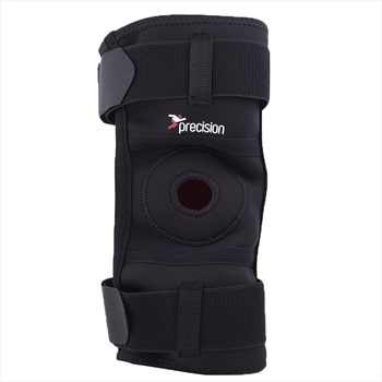 Precision Neoprene Hinged Knee Support L Black