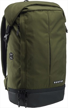 Burton Upslope Waterproof Roll Top Backpack, 28L Forest Night