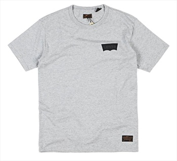 Levi's Skate Graphic Short Sleeved T-Shirt, S Heather Grey
