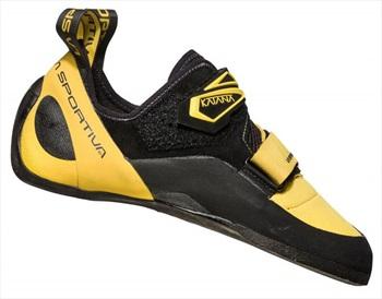 La Sportiva Katana Rock Climbing Shoe - UK 10 / EU 44.5, Yellow