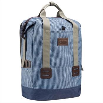 Burton Tinder Tote Backpack, 25L Open Road Stripe