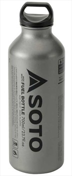 Soto Fuel Bottle Liquid Fuel Container, 700ml Silver