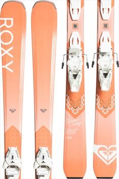 Roxy Dreamcatcher 75 L 10 Plate Women's Skis, 149cm Peach/White 2020
