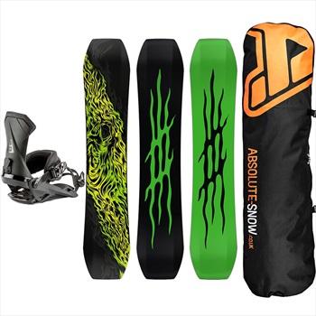 Lobster Eiki Pro | Team Snowboard Package, 151cm | Medium