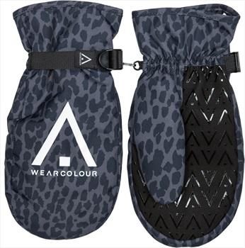Wearcolour WEAR Mitten Snowboard / Ski Mitts, XL Black Leo