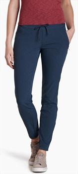 Kuhl Strattus Chino Regular Women's Skinny Fit Trousers, M Dark Sea