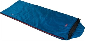 Snugpak Travelpak Traveller LH Zip Sleeping Bag & Blanket Regular Blue