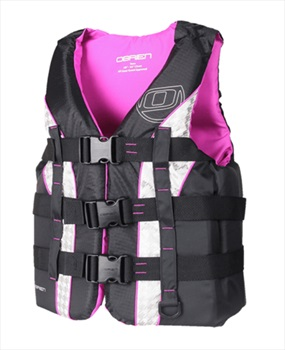 O'Brien Teen | Youth Nylon Watersports Life Jacket, Teen Purple