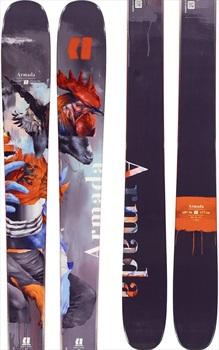 Armada Adult Unisex ARV 96 Ski Only Skis, 170cm Grey/Orange 2020