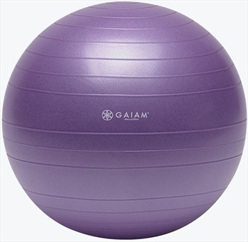 Gaiam Total Body Balance Ball Kit, S Purple