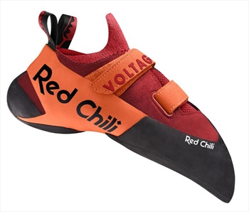Red Chili Voltage II Rock Climbing Shoe, UK 8.5   EU 42.5 Orange