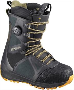 Salomon Lo Fi BOA Mens Snowboard Boot UK 9 Black/Spectra Yellow 2020