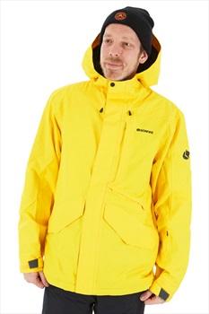 Bonfire Vector Men's Ski/Snowboard Jacket, XL Yellow