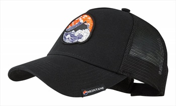 Montane Basecamp Hat Coolmax Trucker Cap One Size Black
