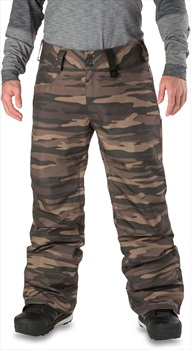 Dakine Artillery 2-Layer Shell Ski/Snowboard Pants, S Field Camo