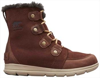 Sorel Explorer Joan Women's Winter Boots, UK 5 Burro