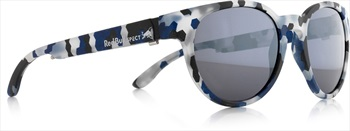 Red Bull Spect Wing 4 Smoke Polarised Sunglasses, Dark Blue/Grey