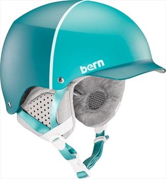 Bern Muse Hard Hat Women's Snowboard Helmet, S Satin Teal Hatstyle