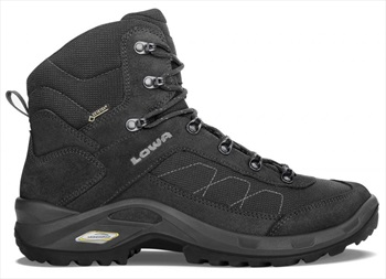 Lowa Adult Unisex Taurus II GTX Mid Men's Hiking Boots, UK 12 Black