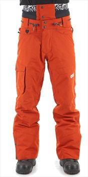 Picture Under Ski/Snowboard Pants, S Brick