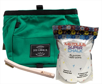 The Bouldering Bundle Climbing Gift Set: Teal