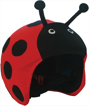 Coolcasc Animals Ski/Snowboard Helmet Cover, One Size, Ladybug