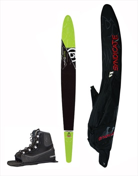 "O'Brien Siege Slalom Water Ski Package, 69""   Std Green"