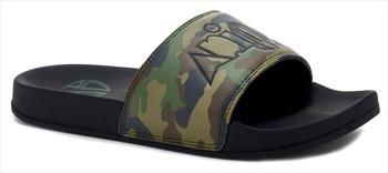 Animal Slyde Slider Flip Flops, UK 12 Camo Print