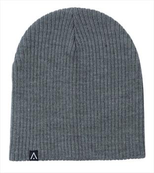 Wearcolour Rib Ski/Snowboard Beanie Hat, One Size Grey Melange